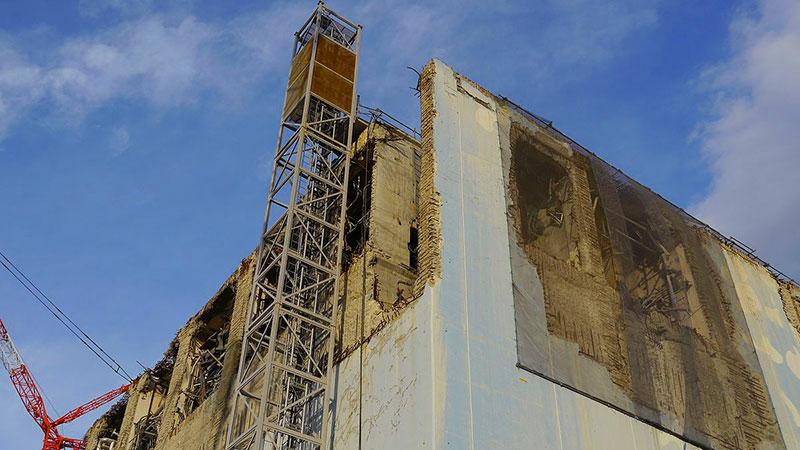 Fukushima Daiichi Unit 4. Image: Gill Tudor / IAEA