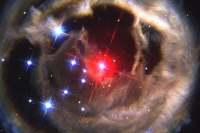 The star V838 Monocerotis, a supposed candidate for the planet Nibiru