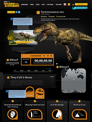 T. rex factsheet from WalkingwithDinosaurs.com