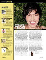 Sharleen Spiteri interview, voyager magazine